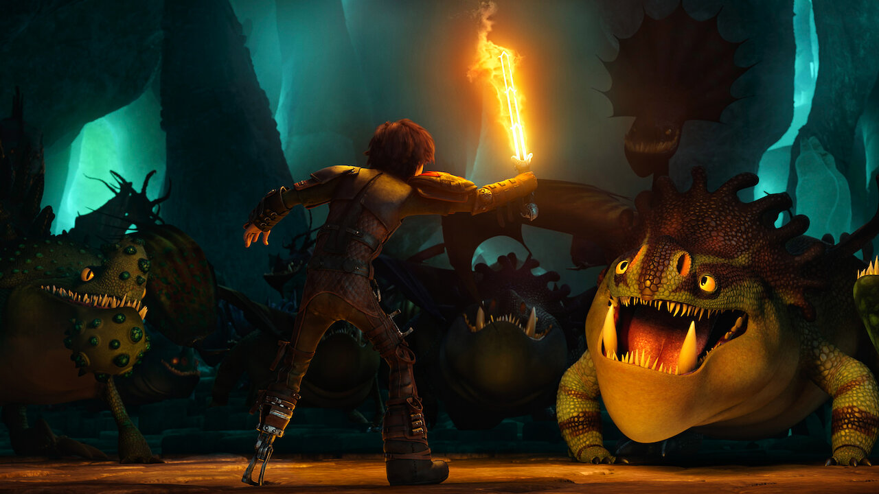 How to Train Your Dragon 12  Netflix